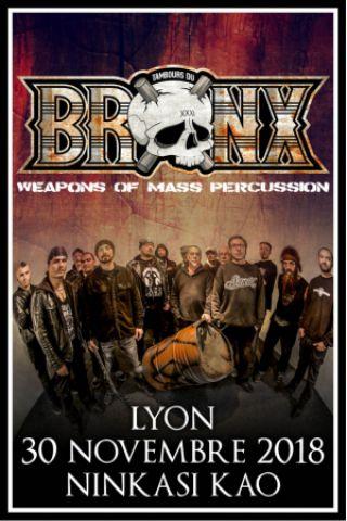 Concert LES TAMBOURS DU BRONX + Guest à LYON @ Ninkasi Gerland / Kao ...