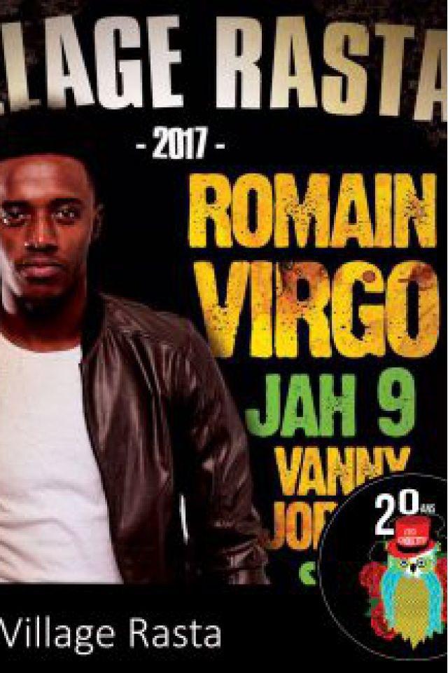 Festival VILLAGE RASTA : ROMAIN VIRGO, JAH9, MARINA P à Paris @ Cabaret Sauvage - Billets & Places
