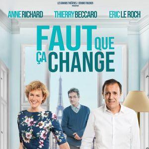 """""""Faut Qu Ca Change""""  Annie Richard & Thierry Beccaro"""