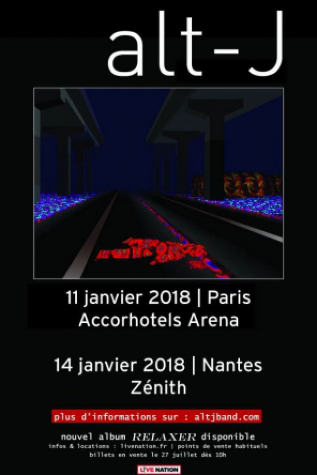 ALT-J @ ACCORHOTELS ARENA - PARIS 12