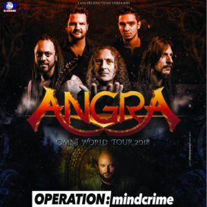 Angra + Operation Mindcrime + Halcyon Way + Avelion @ Le Forum - Vauréal