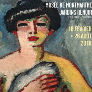 Collections permanentes+Exposition Van Dongen & le Bateau-Lavoir @ Musée de Montmartre - PARIS