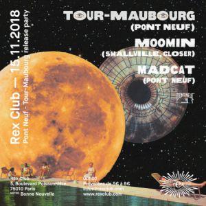 """Pont Neuf - Tour-Maubourg """"Solitude Collective"""" Release Party @ Le Rex Club - PARIS"""