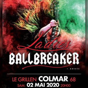Ladies Ballbreaker Le Show Ac/Dc 100% Féminin