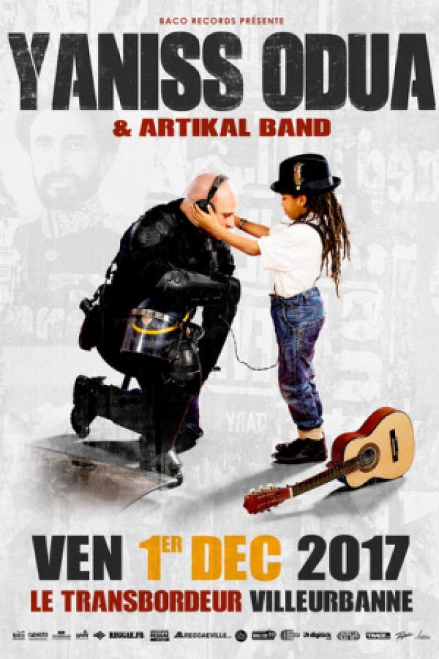 Yaniss Odua & Artikal Band @ TRANSBORDEUR - Villeurbanne