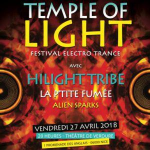 Hilight Tribe + La P'tite Fumée + Alien Sparks @ Théatre de Verdure - NICE