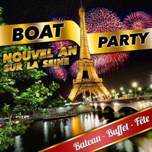 BOAT PARTY NOUVEL AN Sur la Seine @ Bateau Nix Nox - PARIS