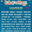 Affiche Lollapalooza paris - pass 2 jours