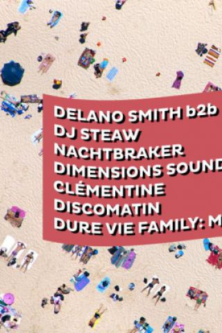 Billets Dure Vie invite Dimensions Festival - Glazart