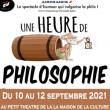 Théâtre UNE HEURE DE PHILOSOPHIE AVEC UN MEC QUI NE CONNAIT PAS GRAND-CHO