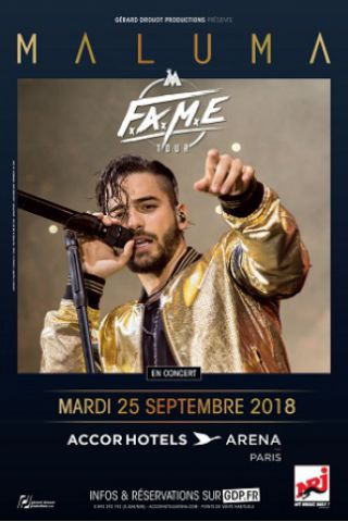 Billets MALUMA - ACCORHOTELS ARENA