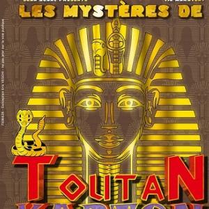Les mystères de Toutan Karton @ La Comédie Saint Michel - Grande salle - PARIS