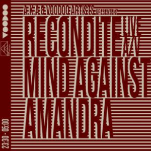 RECONDITE live A/V + MIND AGAINST + AMANDRA @ TRANSBORDEUR - Villeurbanne