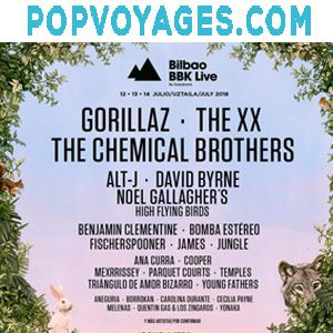 FESTIVAL BBK LIVE BILBAO 2018 DEPART PARIS @ BUS POPVOYAGES DEPART PARIS - Billets & Places
