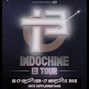 INDOCHINE @ ACCORHOTELS ARENA - PARIS