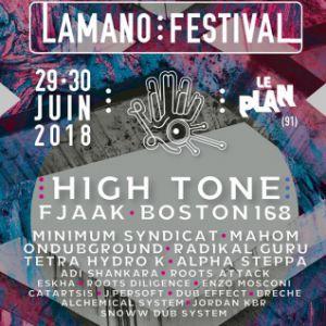 Lamano Festival 2018 : HIGH TONE, RADIKAL GURU & more @ Le Plan Grande Salle - Ris Orangis