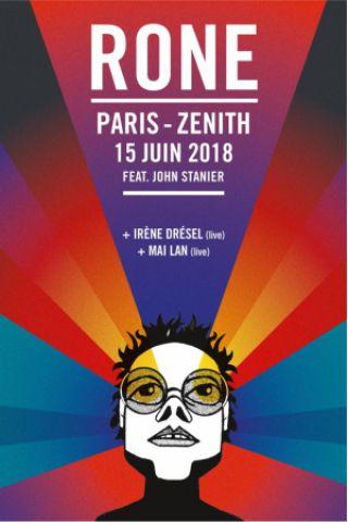 Concert RONE + GUESTS à Paris @ Zénith Paris La Villette - Billets & Places