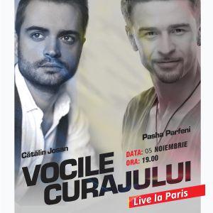 Concert Catalin Josan si Pasha Parfeni - Vocile Curajului Live la Paris @ Café de la Danse - Billets & Places