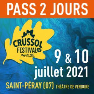 Crussol Festival - Pass 2 Jours