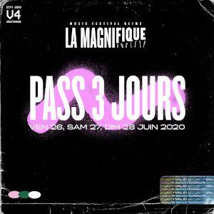 La Magnifique Society - Pass 3 Jours