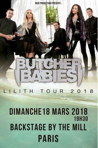 Concert BUTCHER BABIES à Paris @ Le Backstage - Billets & Places