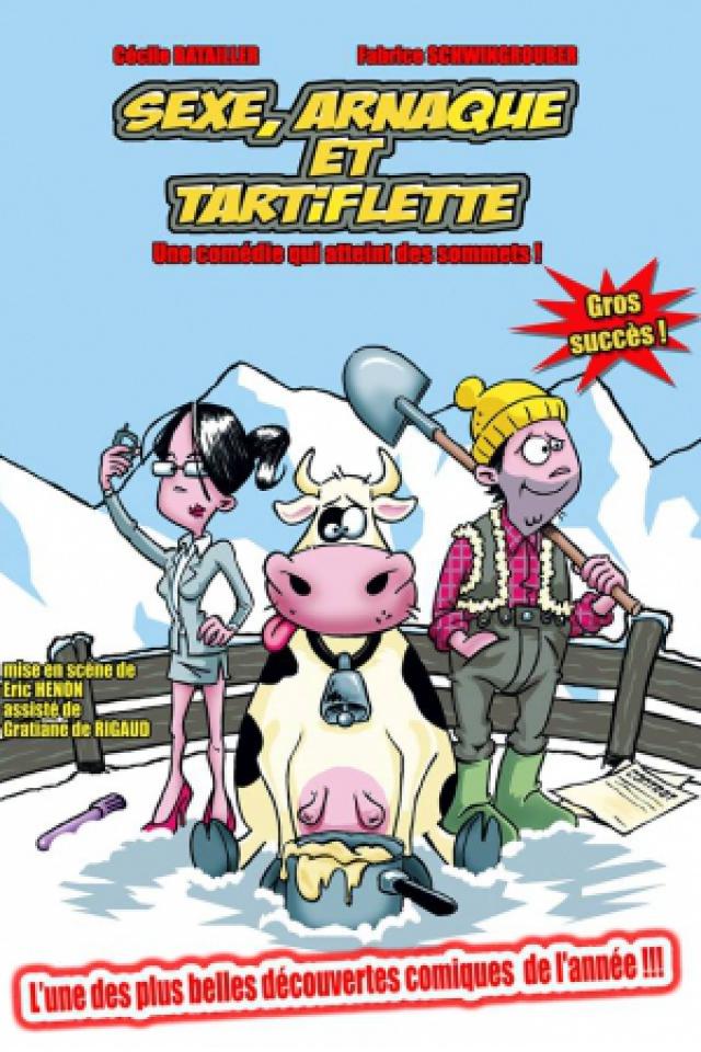 SEXE,ARNAQUE ET TARTIFLETTE @ LE K - KABARET CHAMPAGNE MUSIC HALL - TINQUEUX