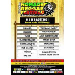 Nomade Reggae Festival 2021 - Pass Vendredi 6 Août