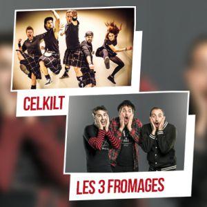 Celkilt + Les 3 Fromages