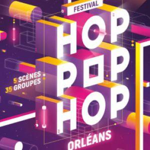 FESTIVAL HOP POP HOP 2018 - PASS SAMEDI @ JARDIN DE L'EVECHE - ORLÉANS