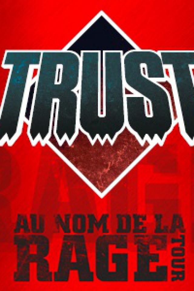 """Concert TRUST """"AU NOM DE LA RAGE TOUR"""" à TULLE @ Salle de l'Auzelou - Billets & Places"""