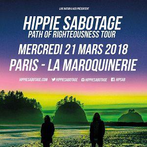 HIPPIE SABOTAGE @ La Maroquinerie - PARIS