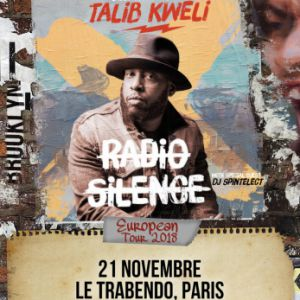 Talib Kweli @ Le Trabendo - Paris