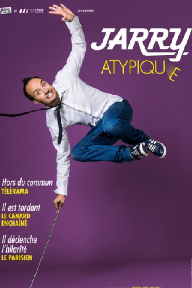 """JARRY - """"ATYPIQUE"""" @ Théâtre Municipal - Denain"""
