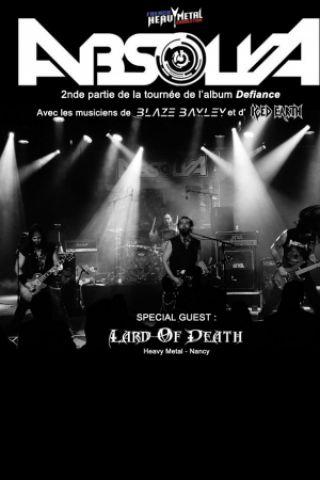 Concert ABSOLVA + LARD OF DEATH à Pagney derrière Barine @ Chez Paulette - Billets & Places