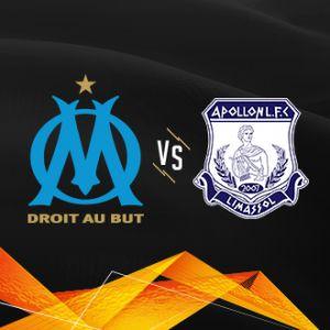Olympique de Marseille - Apollon Limassol @ Orange Vélodrome - Marseille