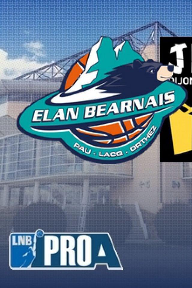 ELAN BEARNAIS / JDA DIJON @ Palais des Sports de Pau - PAU