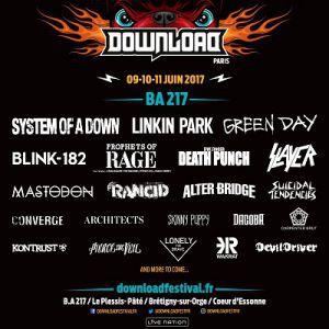 Concert DOWNLOAD FESTIVAL 2017 - PASS JOUR 3