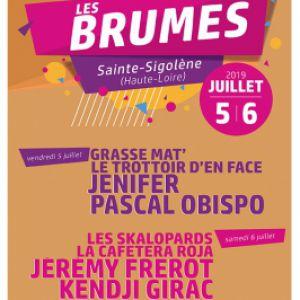 Festival Les Brumes - 7Eme Edition - Pascal Obispo - Jenifer