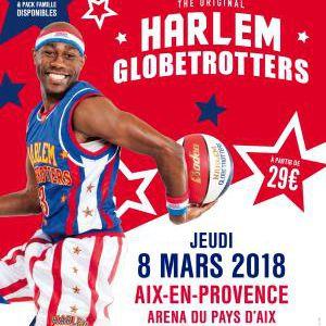 HARLEM GLOBETROTTERS @ Arena du Pays d'Aix - LES MILLES