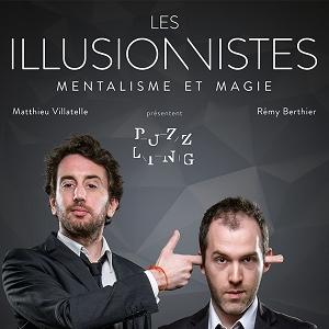 """LES ILLUSIONNISTES """"Puzzling"""" @ APOLLO THEATRE - PARIS"""