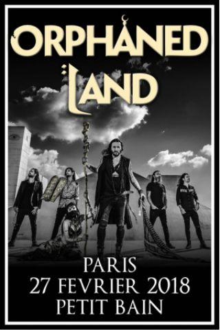 Concert ORPHANED LAND + In Vain + Subterranean Masquerade + Aevum à PARIS @ Petit Bain - Billets & Places