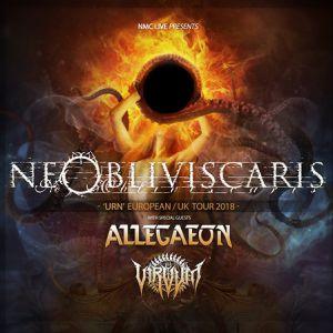NE OBLIVISCARIS + ALLEGAEON + VIRVUM  @ L'AUTRE CANAL - Nancy