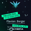 Concert FLAVIEN BERGER  à Paris @ L'Olympia - Billets & Places