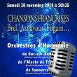 Concert CHANSONS FRANCAISES