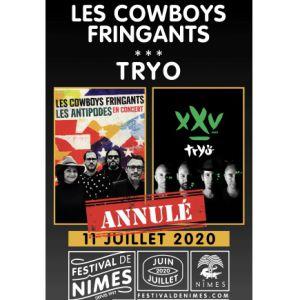 Les Cowboys Fringants - Tryo - Annulé