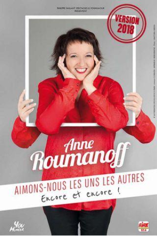 Spectacle ANNE ROUMANOFF à Bressuire @ BOCAPOLE - Espace Europe - Billets & Places