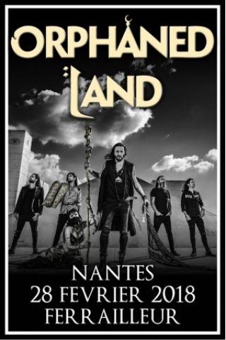Concert Orphaned Land + In Vain + Subterranean Masquerade + Aevum