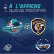 Match ELAN BEARNAIS / BOULOGNE-LEVALLOIS à PAU @ Palais des Sports de Pau - Billets & Places