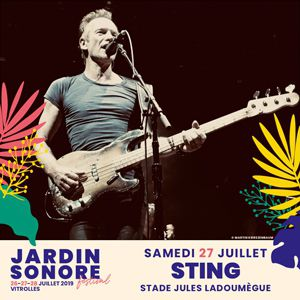 Festival Jardin Sonore - Sting : My Songs / Max Jury & More