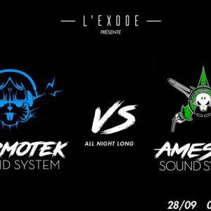 Marmotek VS Ameson Sound System @ MACADAM - NANTES